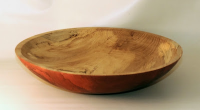 "Photo: Stan Wellborn 14"" x 3 1/2"" bowl [spalted elm]"