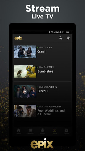 EPIX: Stream with TV Package screenshot 3