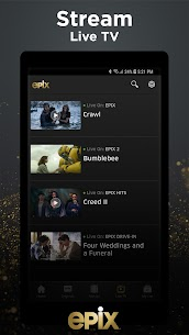 EPIX: Stream with TV Package 4