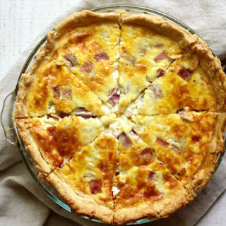 FRENCH BEER QUICHE W/ ALL BUTTER CRUST