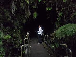 Photo: ingresso al Thurston Lava Tube