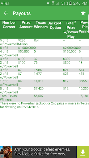 Fast Texas Lottery Results  screenshots 5
