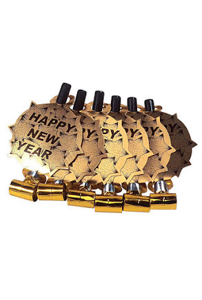 Blåsormar Happy New Year, Guld