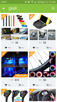 Geek - Smarter Shopping APK screenshot thumbnail 5