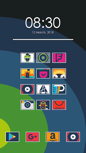 ایپس Birin - Icon Pack Android کے لئے screenshot