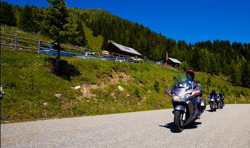 Autriche à moto , Grossglockner
