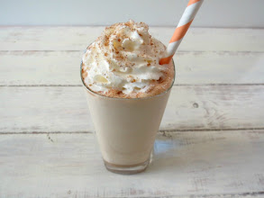 Photo: Skinny Cinnamon Dolce Frappe - A frozen coffee drink blended with milk and cinnamon and topped with whip cream and sugar and cinnamon.  http://www.peanutbutterandpeppers.com/2013/04/07/skinny-cinnamon-dolce-frappe-sundaysupper/  #starbucks   #cinnamondolce   #cinnamon   #frappuccino   #frappe   #skinnycinnamon   #coffee   #veganrecipe