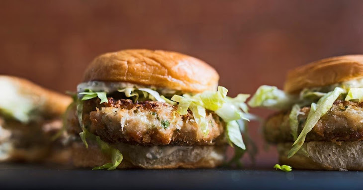 Salmon Burgers with Sweet Pickle Relish Recipe