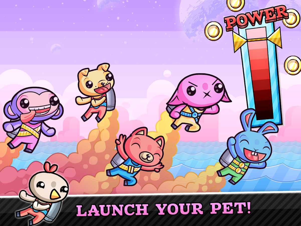 Super Rocket Pets- screenshot