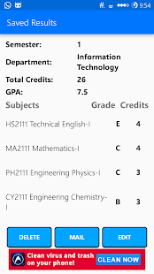 Student's Desk - GPA - CGPA- screenshot thumbnail