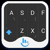 TouchPal Black Key Theme