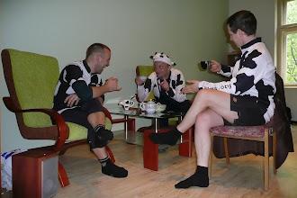 Photo: Jak każda dobra wycieczka i ta rozpoczyna się zrobieniem dobrej herbatki i ustaleniem Planu