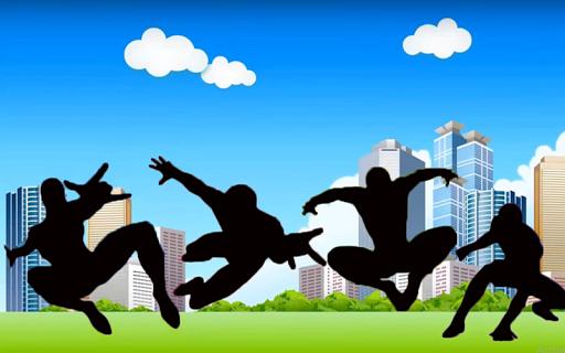Spider super man Run