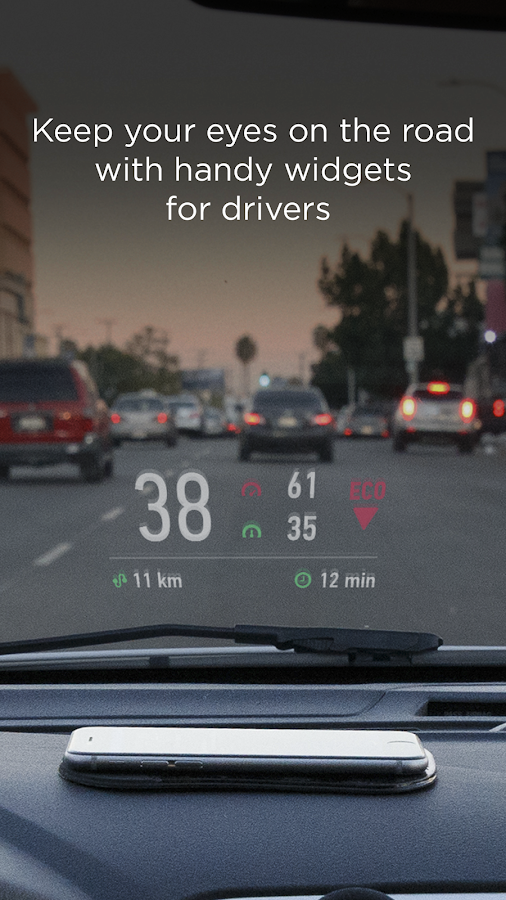 HUD Widgets — Driving widgets with HUD mode- screenshot