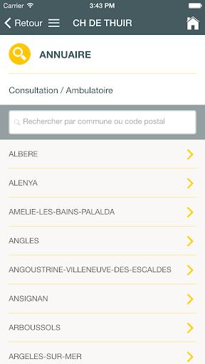 CH de Thuir screenshot 2