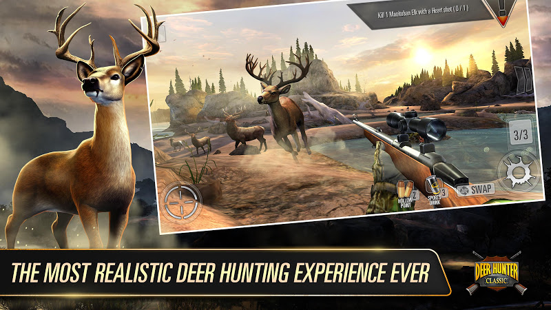 DEER HUNTER CLASSIC APK Cracked Free Download   Cracked Android Apps