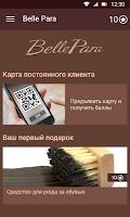 Screenshot of Belle Para