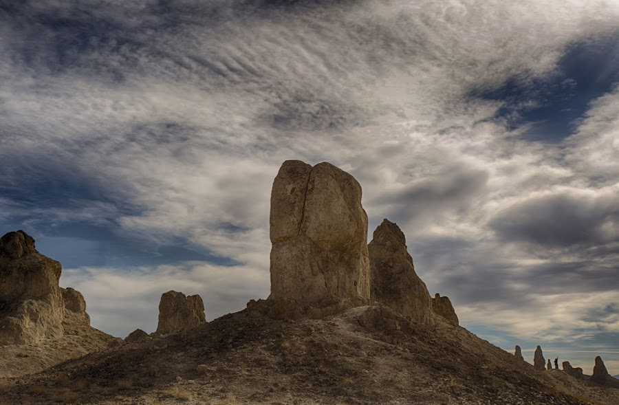 The Pinnacles of Trona by Tin Tin Abad - Landscapes Mountains & Hills ( flicker, viewbug, facebook )