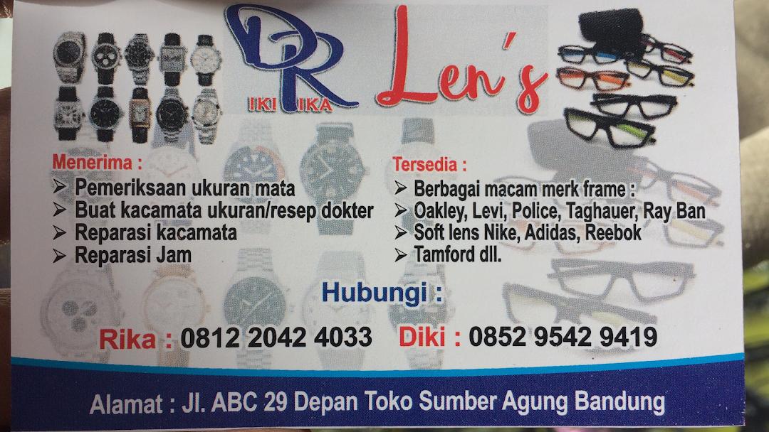 Lapak DR Lens kacamata murah Jln Abc Bandung - Ahli Kacamata 61807826b3