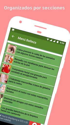 Trucos y Consejos de Belleza Caseros 1.05 screenshots 1