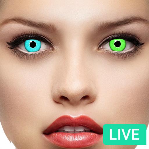 Eye Color Changer Booth - Live Eye Changer