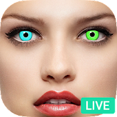 Eye Color Changer Booth - Live Eye Changer