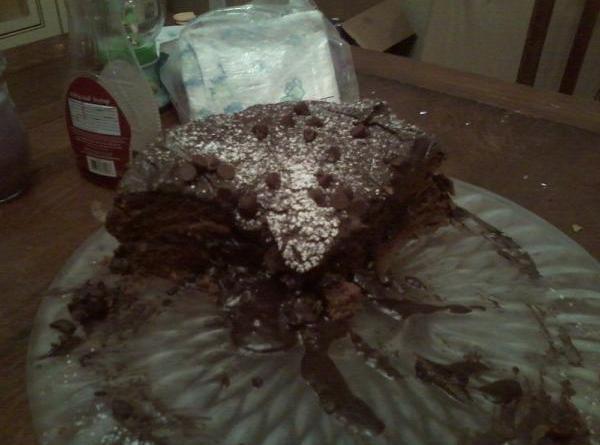Rich Double Chocolate Cake! Recipe