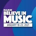 NAMM's Believe in Music Week icon
