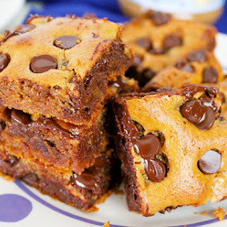 Almond Butter & Honey Blondies