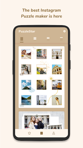 Puzzle Collage Template for Instagram - PuzzleStar 3.1.4 screenshots 1