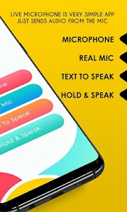 Live Microphone – Mic Announcement & Speaker Screenshot