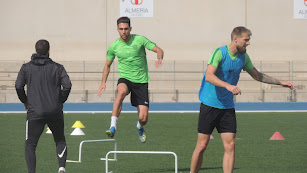 Juan Ibiza, en acción.