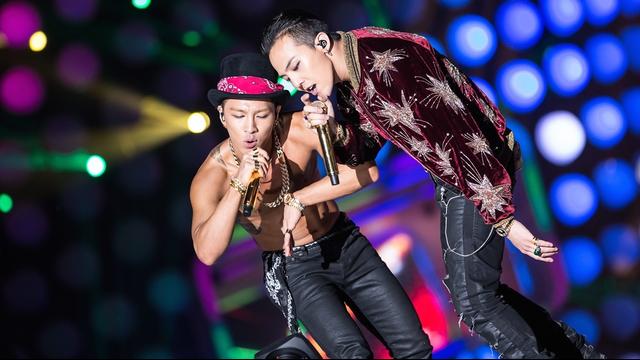 G-Dragon and Taeyang MAMA 2014