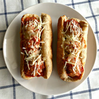 Turkey Meatball Sandwiches
