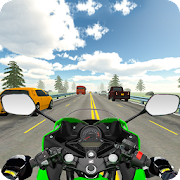 Download Highway Real Traffic Bike Racer APK to PC
