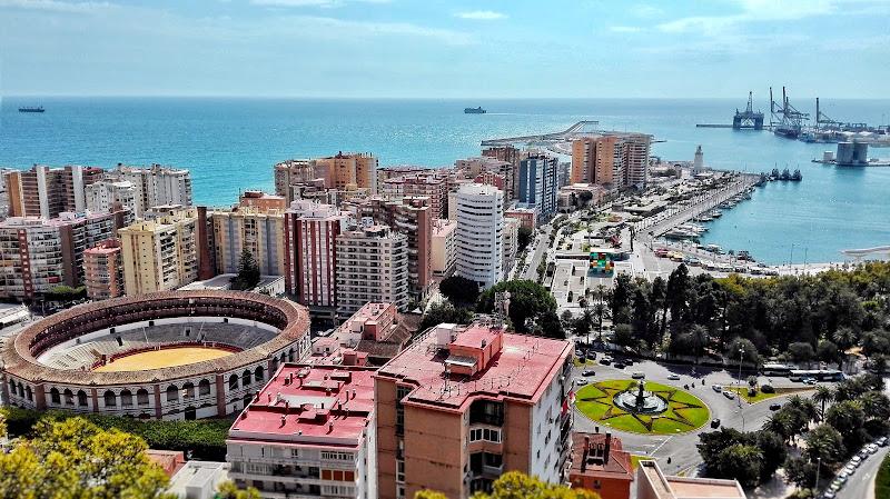 Corrida in riva al mare, Malaga. di Massi22
