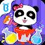 دانلود Baby Panda's Color Mixing Studio اندروید