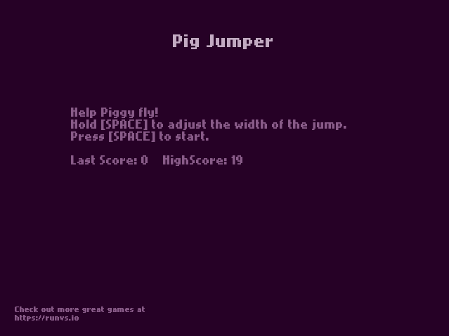Pig Jumper- screenshot