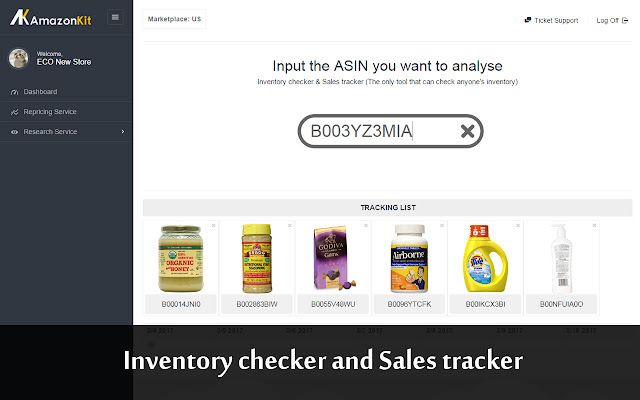 by this tool you can check all sellers inventory data in real time and trackanalyse their sales. Resume Example. Resume CV Cover Letter