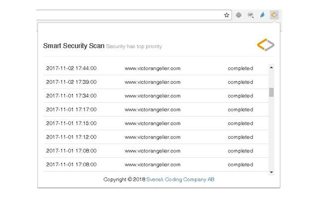 Smart Security Scan