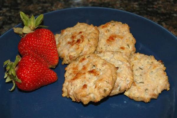 Chicken And Apple Sausage Patties Recipe