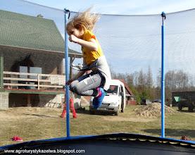 Photo: Ola na trampolinie