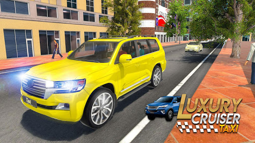 Prado Taxi Car Driving Simulator  screenshots 15