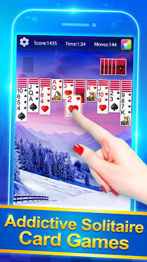Solitaire Plus - Free Card Game painmod.com screenshots 8