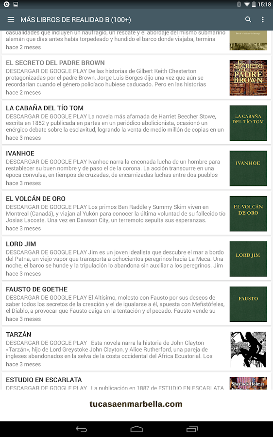 Libro el jard n secreto android apps on google play for Jardin google translate