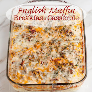 English Muffin Breakfast Casserole Recipe