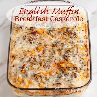English Muffin Breakfast Casserole Recipes.