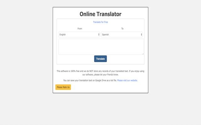 Translate Online