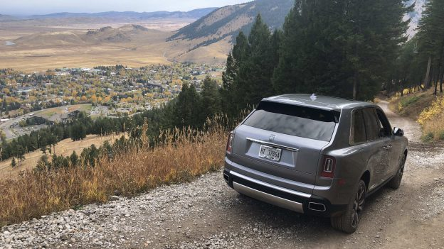 The Cullinan is more than capable of taking you up and down the occasional mountain pass.