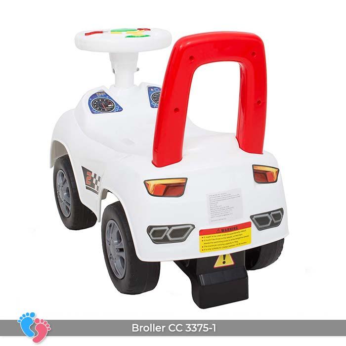 Xe ô tô chòi chân cho bé Broller CC-3375-1 có nhạc 7